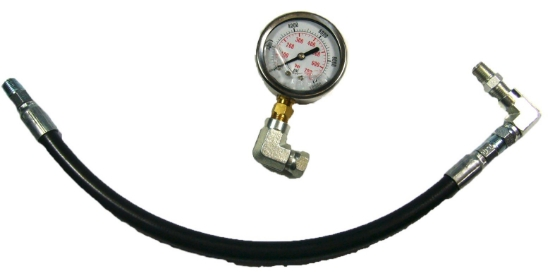 Picture of Hose with gauge & fittings