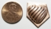 Picture of Impression Die Diagonal Ribbed Heart