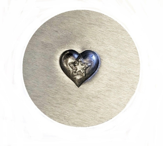 Picture of Impression Die Star Within A Heart