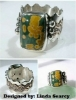 Picture of LAST CALL! Pancake Die R735 Scallop Ring Band