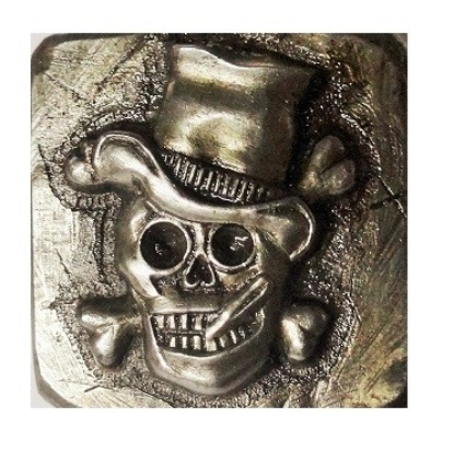 Picture of Impression Die Skull With Top Hat