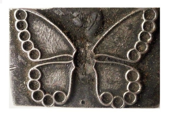 Picture of Impression Die Jewel Butterfly