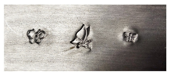 Picture of Impression Plate: Butterfly