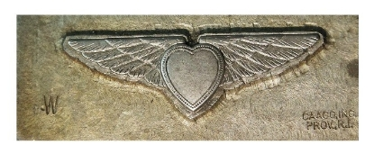 Picture of Impression Die Winged Heart