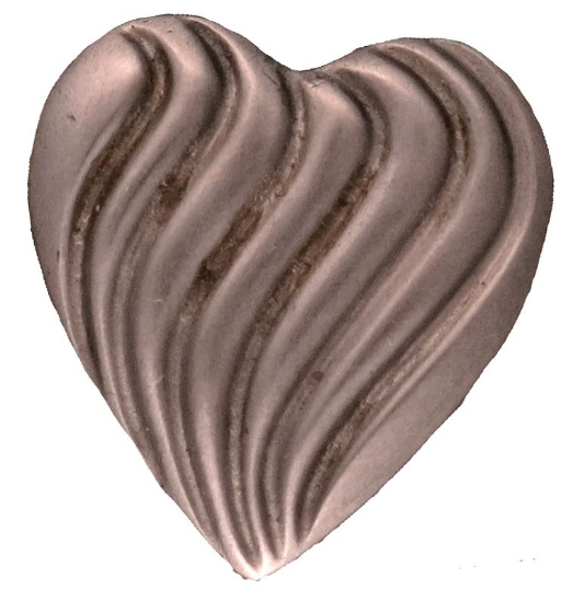 Picture of Impression Die Waved Heart