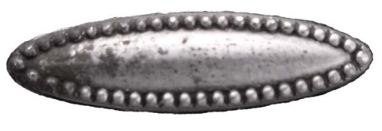 Picture of Impression Die Dotted Swiss Oval
