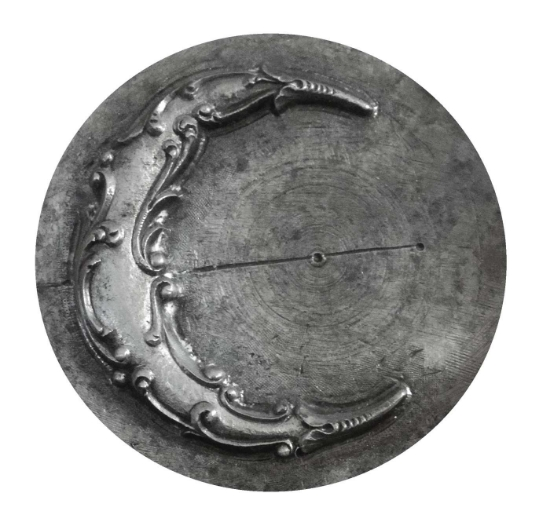 Picture of Impression Die Detailed Crescent Moon
