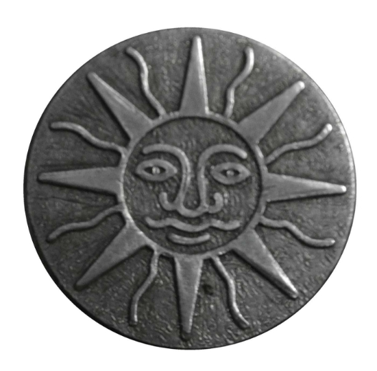 """Picture of Impression Die Sun Face 1"""""""