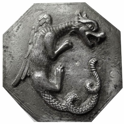 Picture of Impression Die Coiling Dragon