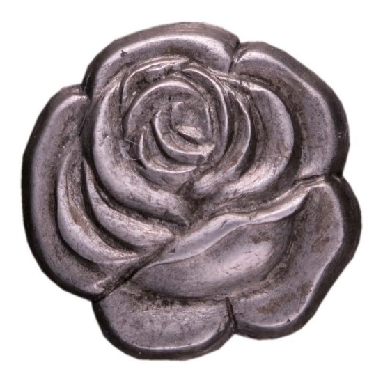 Picture of Silver Stamping Blooming Rose