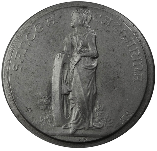 Picture of Impression Die Saint Catherine Medallion