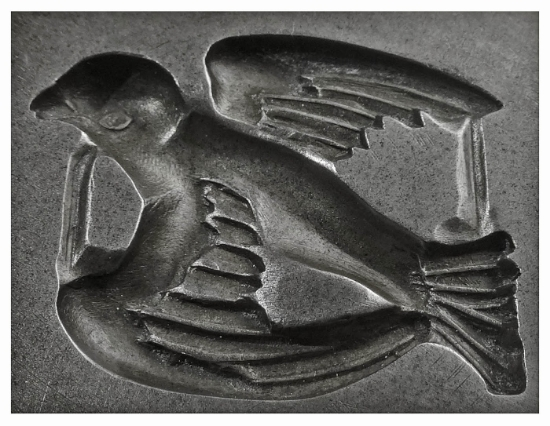 Picture of Silver Stamping Dove