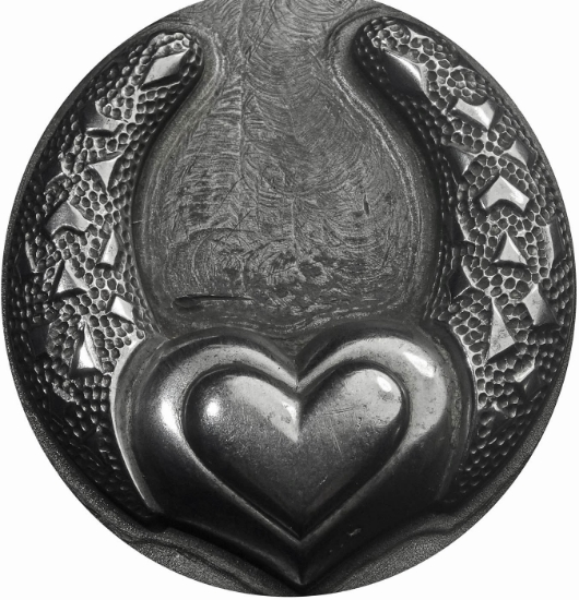 Picture of Impression Die Double Heart Hoop