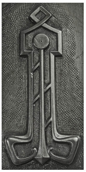 Picture of Impression Die Art Deco Thor's Hammer