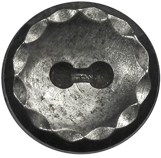 Picture of Impression Die Scalloped Button