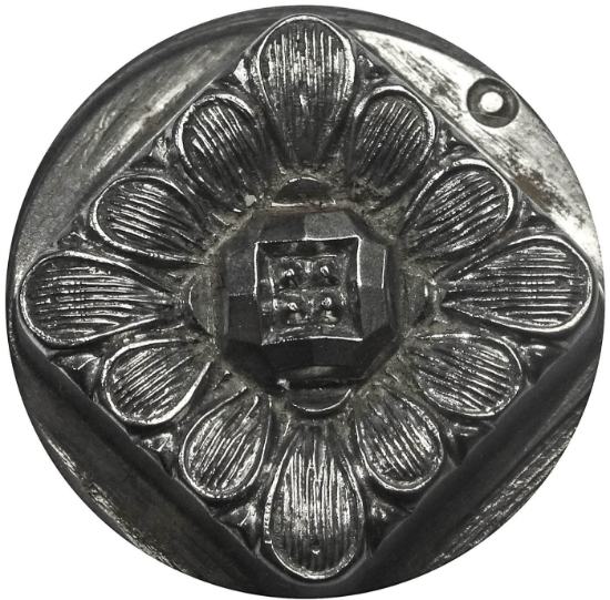 Picture of Impression Die Square Flower Button