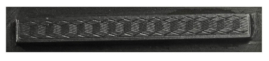 Picture of Impression Die Texture Engraved Bar