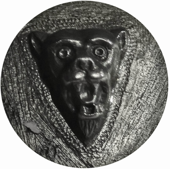 Picture of Shot Plate Mountain Lion Cameo