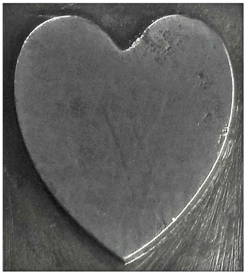 Picture of Impression Die Mesa Heart