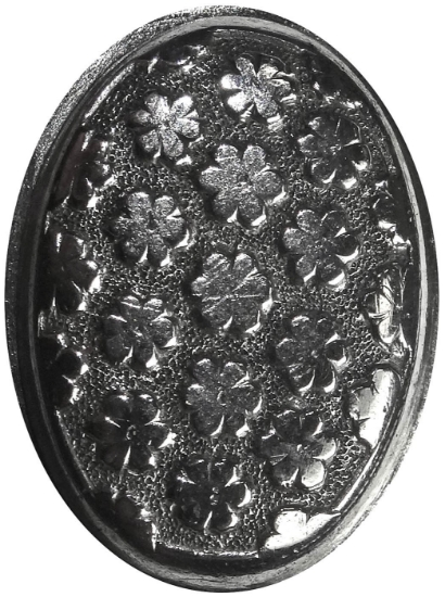 Picture of Impression Die Repeating Flower Button