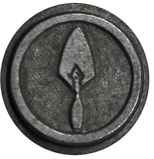 Picture of Impression Die Gardener's Button