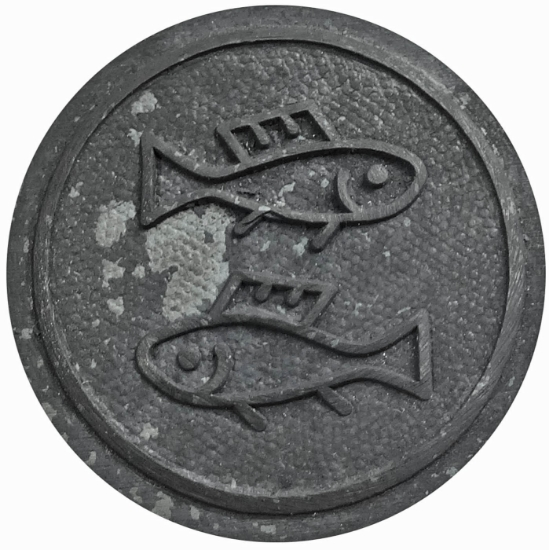 Picture of Impression Die Minimalist Pisces