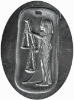 Picture of Silver Stamping Egyptian Libra