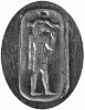 Picture of Silver Stamping Egyptian Capricorn