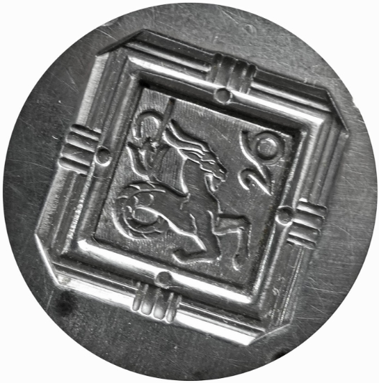 Picture of Silver Stamping 26th Chimera