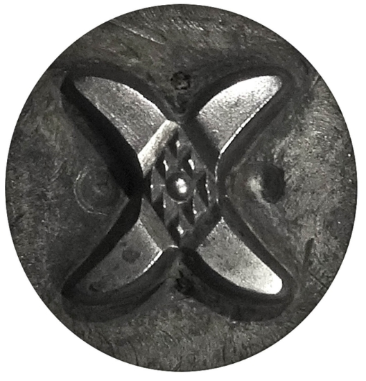 Picture of Impression Die Textured 'X'