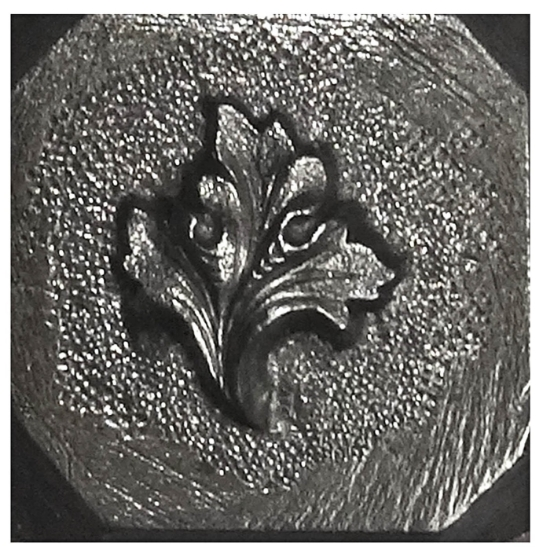 Picture of Shot Plate Tedford Leaf