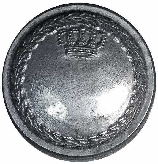 Picture of Impression Die Bordered Belgian Military Button