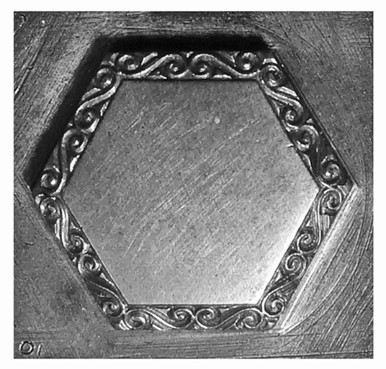 Picture of Impression Die Hex Victorian Bezel