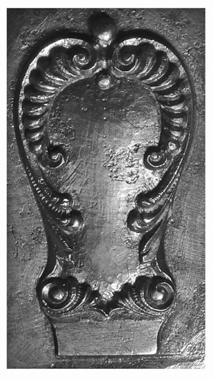 Picture of Impression Die Victorian Flourish-Forged Cutlery Top
