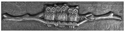 Picture of Impression Die The Owl Ring of Wisdom