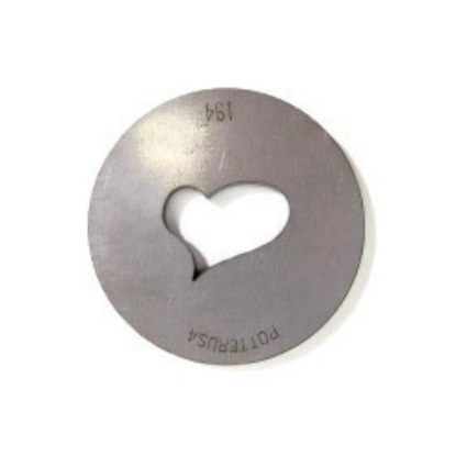 Picture of Silhouette Die 194 Large Puffy Heart 2