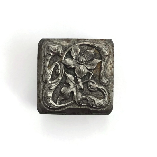 Picture of ***LIMITED RUN***Impression Die Blooming Vine Block