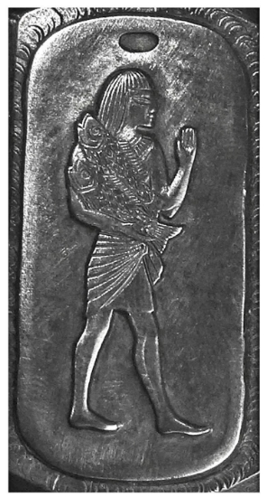 Picture of Silver Stamping Egyptian Pisces