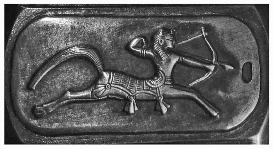 Picture of Silver Stamping Egyptian Sagittarius