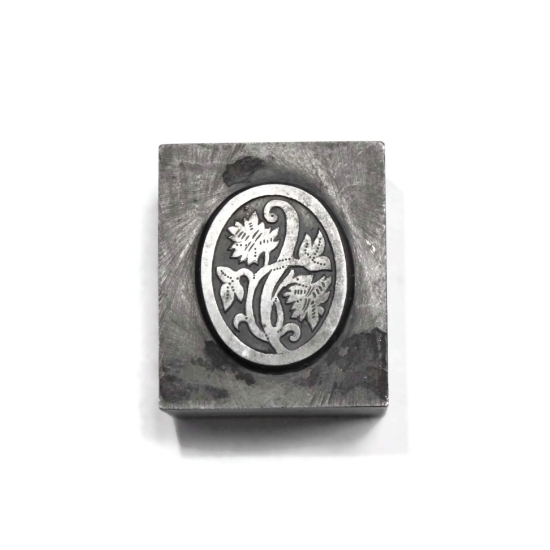 Picture of Impression Die Floral Oval