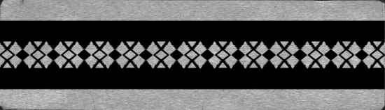 Picture of Bracelet Pattern Plate 6 (RMP036)