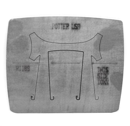 Picture of Pancake Die R1189 Ring Shank Round Top