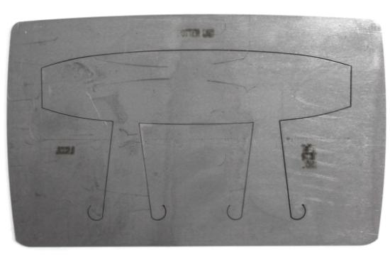 "Picture of Pancake Die Bracelet B002B Square Taper 6 1/2"""