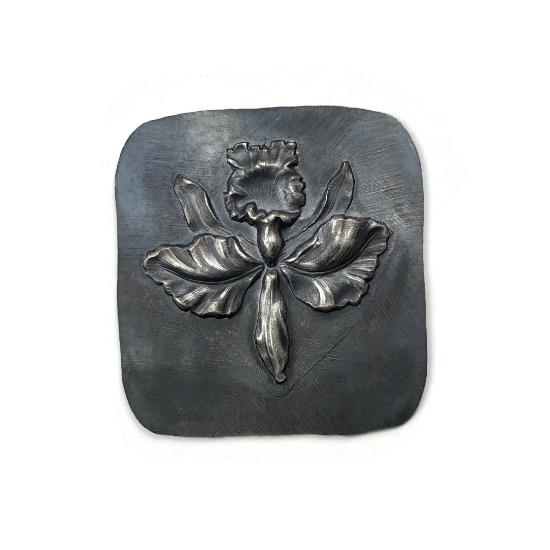 Picture of Orchid Silver Stamping