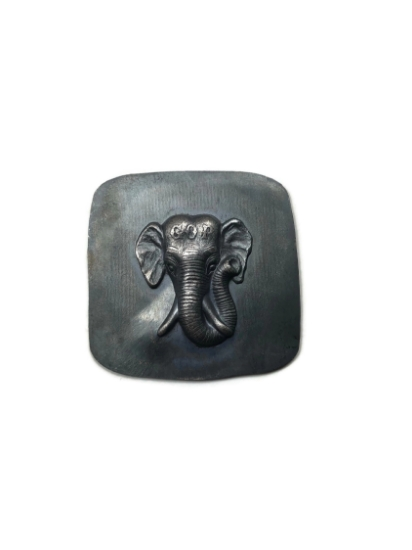 Picture of Detailed Elephant Silver Stamping