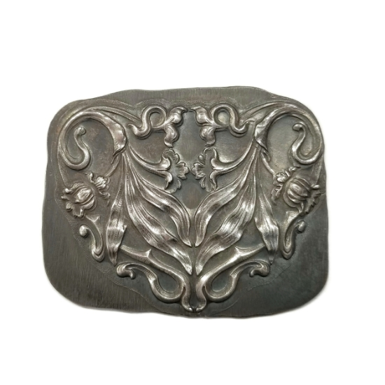 Picture of Parisian Floral Festoon Silver Stamping