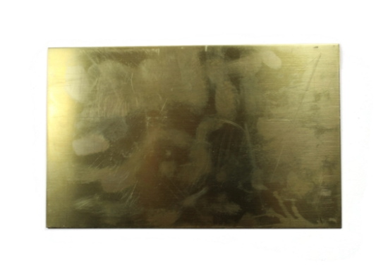 "Picture of Brass 20 Gauge Sheet 5"" x 8"""