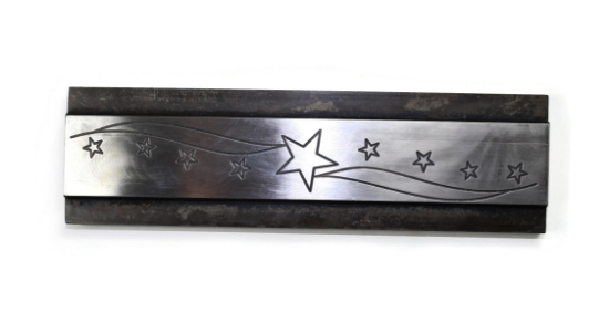 Picture of Star Spangled Pattern Plate RMP049