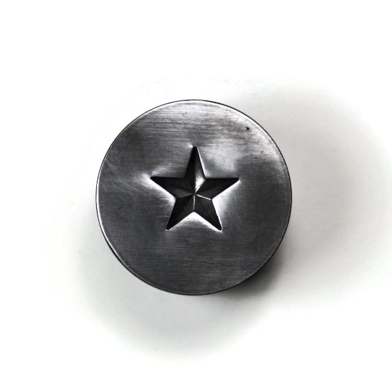 Picture of Army Star Silver Stamping
