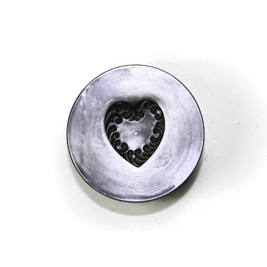 Picture of Flourishing Heart Silver Stamping
